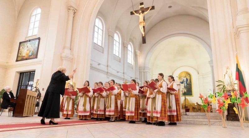 Праздничный концерт Детского хора литовского радио и телевидения в Санкт-Петербурге